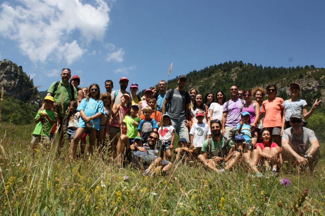 Puigsacalm, 1a Excursió de famílies del curs 2018-2019